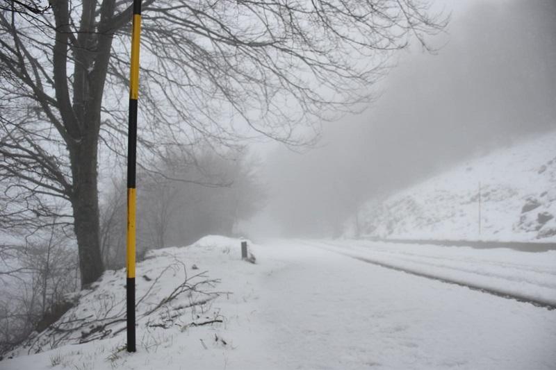 Piano Battaglia, ripristinata (parte) della viabilità: ma sono attese nuove nevicate
