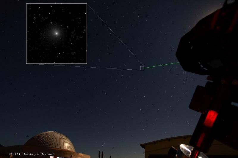 """La """"cometa di Natale"""" incanta le Madonie: il passaggio della 46P dai cieli di Isnello"""