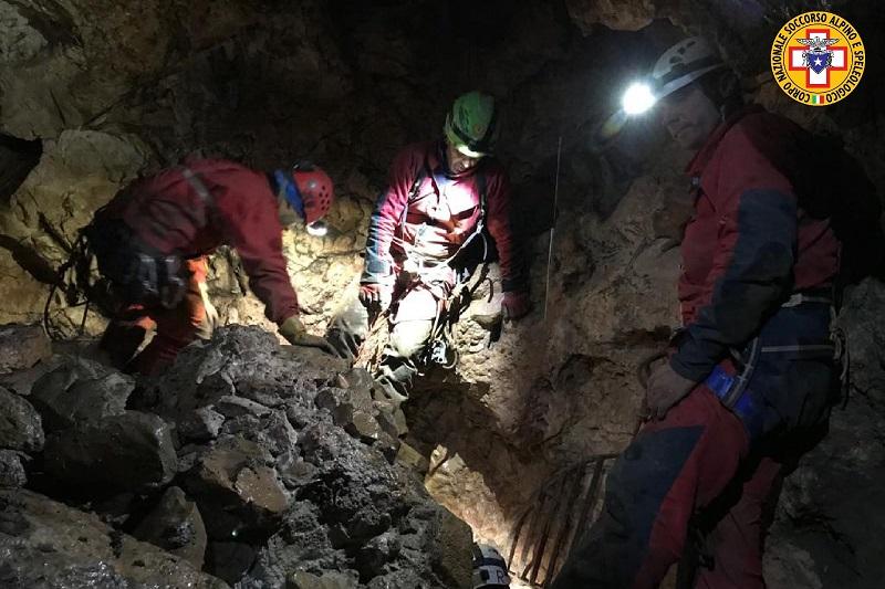 Isnello, speleologo ferito dentro l'Abisso del Vento: nuovo intervento del Soccorso Alpino