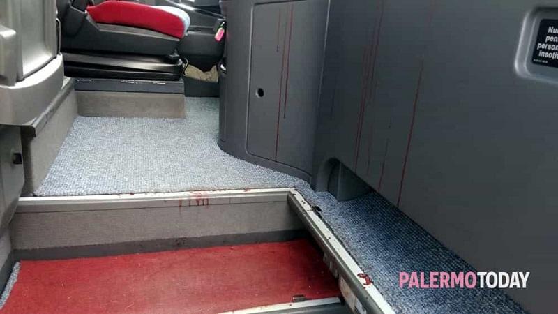 Pollina, viaggio da incubo per due autisti di pullman: aggrediti a colpi di forbice
