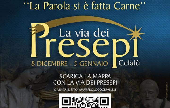 """Cefalù, al via """"La Via dei Presepi"""": oltre 50 le opere esposte. Aperti musei, chiese, monumenti"""