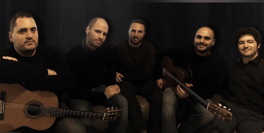 A Cefalù il Mediterraneo Guitar Ensemble: cinque chitarre sul palco del Teatro Cicero