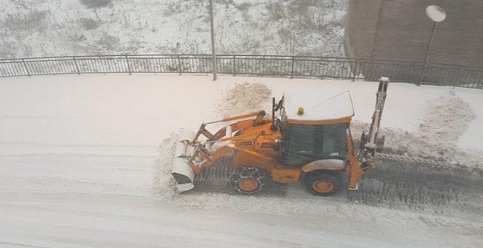 neve scavatore viabilità