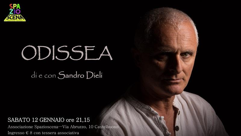 Castelbuono, al teatro di Spazioscena l'Odissea di Sandro Dieli