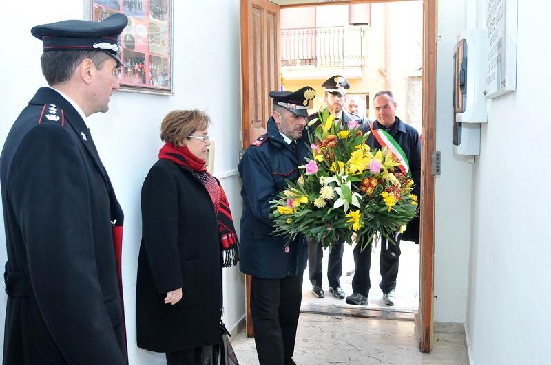 Montemaggiore Belsito non dimentica: cerimonia per l'appuntato Giuseppe Cavoli
