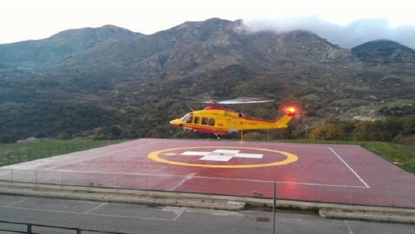 Elisuperficie ospedale di Petralia: arriva il sì dell'Enac per l'utilizzo anche di notte