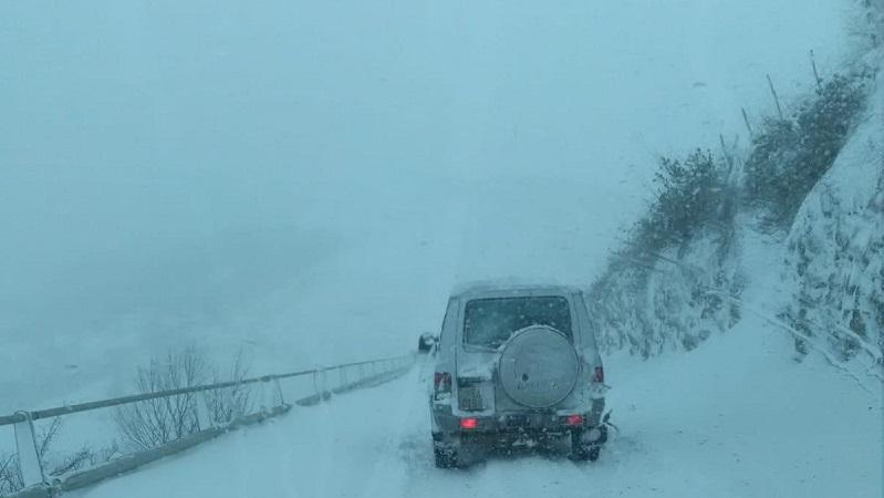 Gelo e neve sulle Madonie, venerdì e sabato di passione
