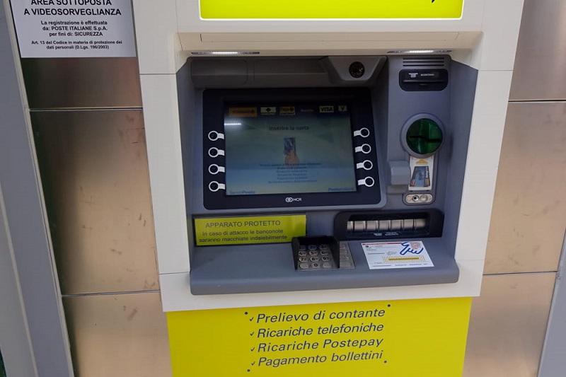 Poste Italiane presenta i nuovi bancomat: installati due di ultima generazione a Sciara e Castellana