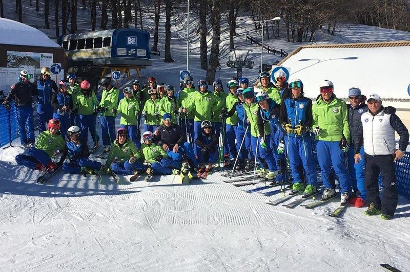 A Piano Battaglia il corso europeo per diventare maestri di sci