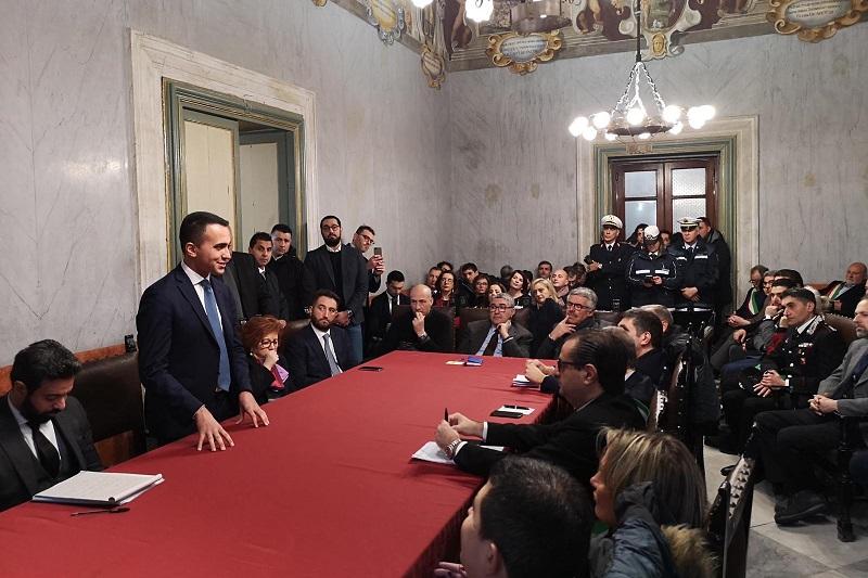 """Termini Imerese, l'impegno del ministro Di Maio sulla Blutec: """"Cassa integrazione per i lavoratori"""""""