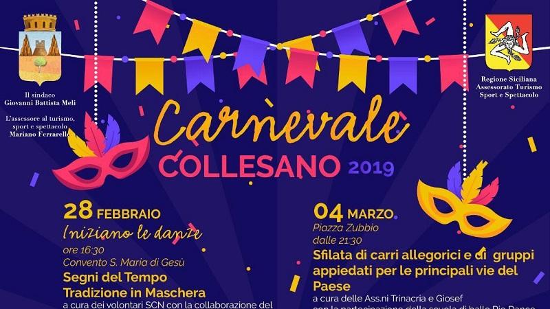 Giocolieri, sfilata e spettacoli musicali: è il carnevale a Collesano