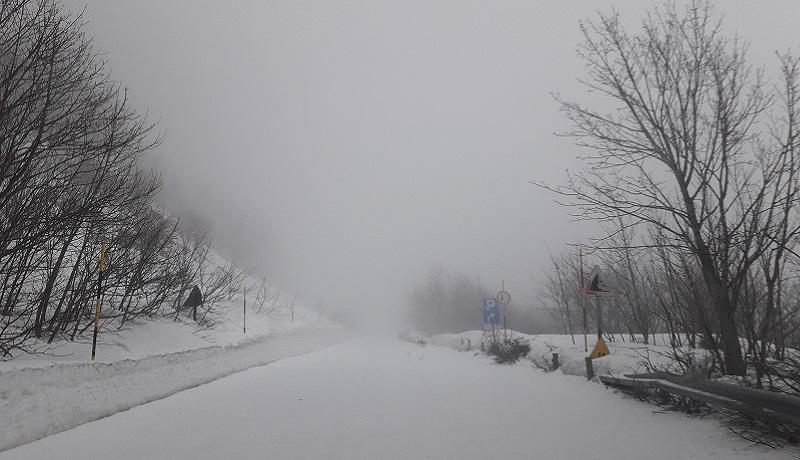 Il lungo inverno delle Madonie, la neve torna ad imbiancare le montagne