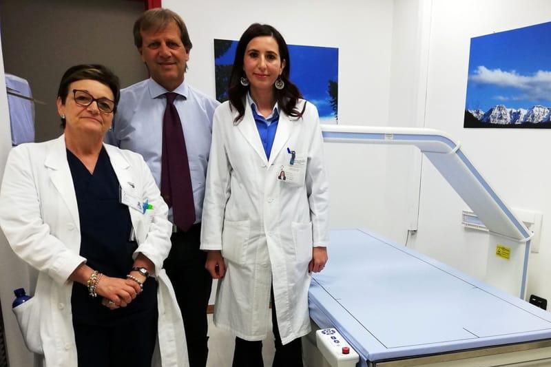 Radiologia di ultima generazione, al Giglio l'esame per l'osteoporosi