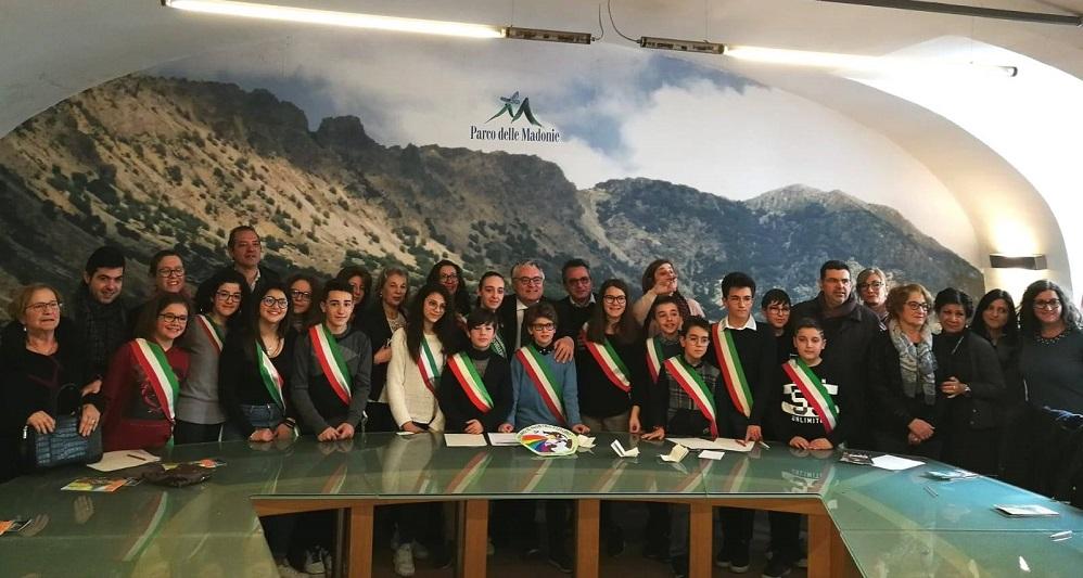 Baby Parco delle Madonie: eletto il nuovo mini-presidente