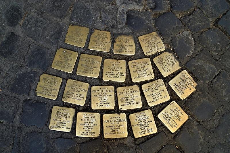 Per non dimenticare: la pietra d'inciampo per Liborio Baldanza
