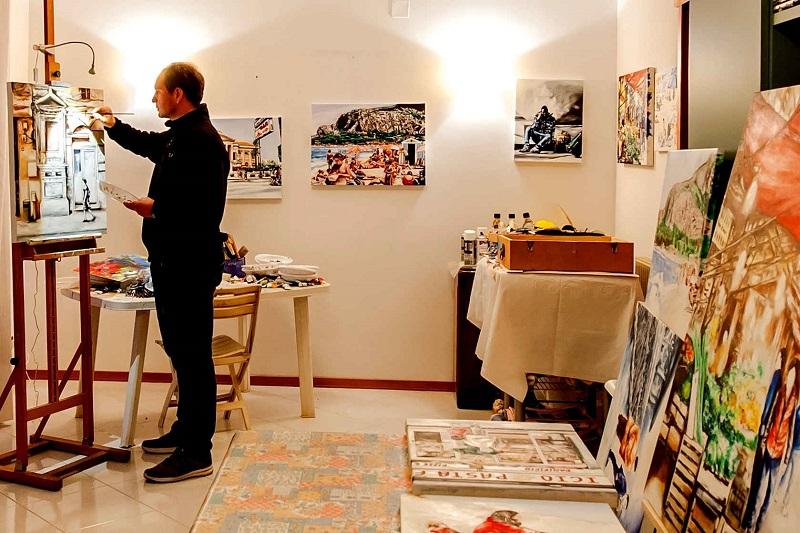 La difesa dell'ambiente nel nuovo murale dell'artista Tommaso Chiappa
