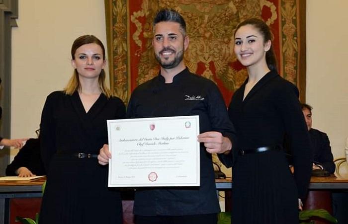 """Il madonita Davide Merlino è """"Ambasciatore Doc Italy"""""""