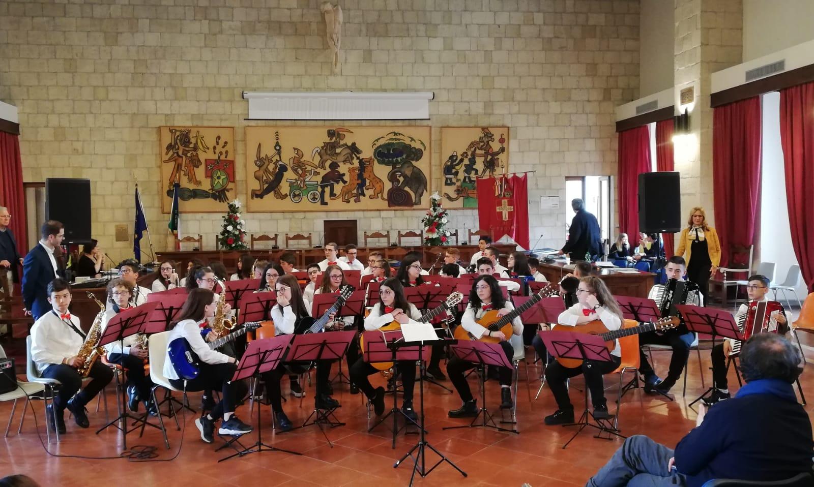 L'orchestra degli studenti più bravi d'Italia