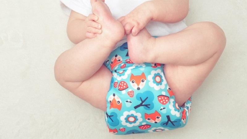 """""""Nati per non inquinare"""": la campagna per l'utilizzo dei pannolini lavabili"""