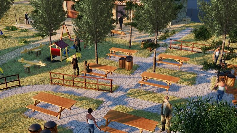 Il nuovo Parco delle Rimembranze: ecco come sarà l'area verde
