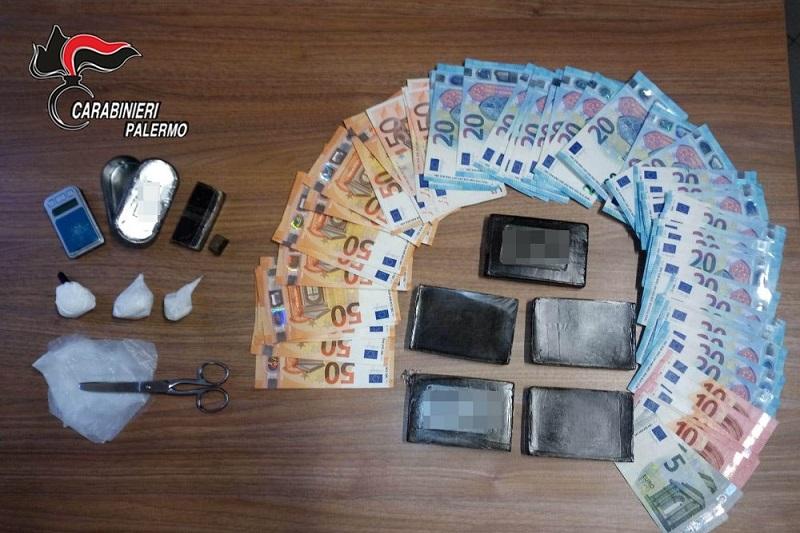 Hashish, crack e cocaina: i carabinieri arrestano un madonita per spaccio