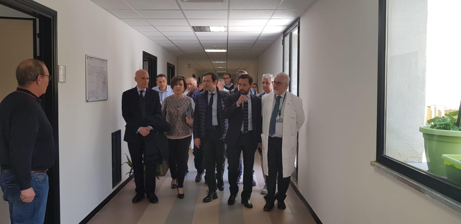 """Ospedale Madonna dell'Alto, l'assessore Razza: """"Occorrono investimenti"""""""