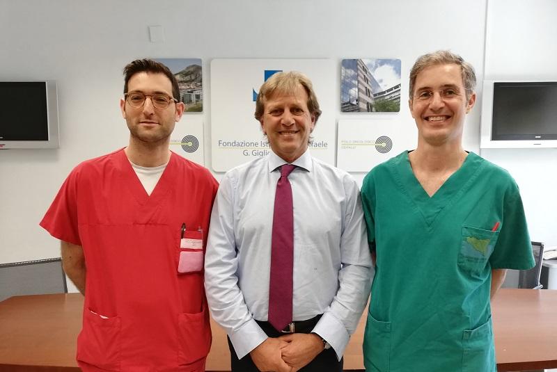 Sanità, al Giglio nuove tecniche mini-invasive per gli interventi di urologia