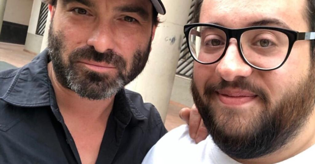 "Passeggiata a Termini per Johnny Galecki, star di ""The Big Bang Theory"""
