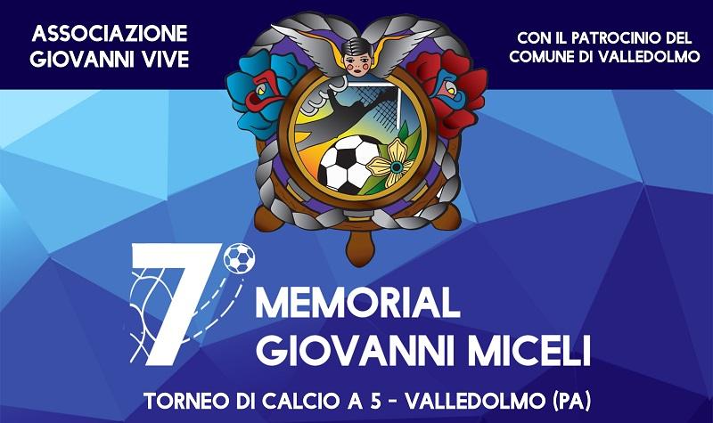 Valledolmo, 7° Memorial Giovanni Miceli: torneo tra calcio e social network