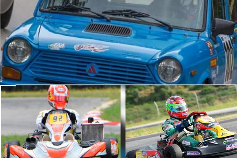 Auto storiche e Kart: i risultati dei piloti della scuderia Real Cefalù