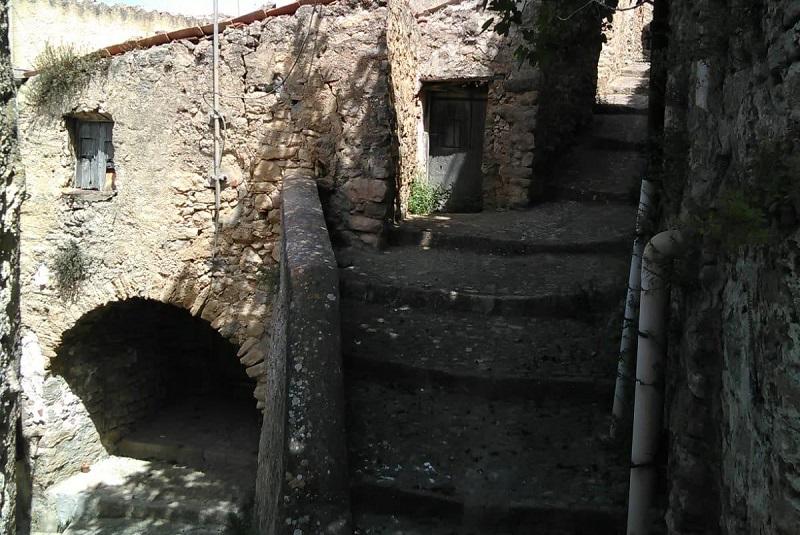 Un'oasi verde nel cuore del centro storico del Borgo madonita