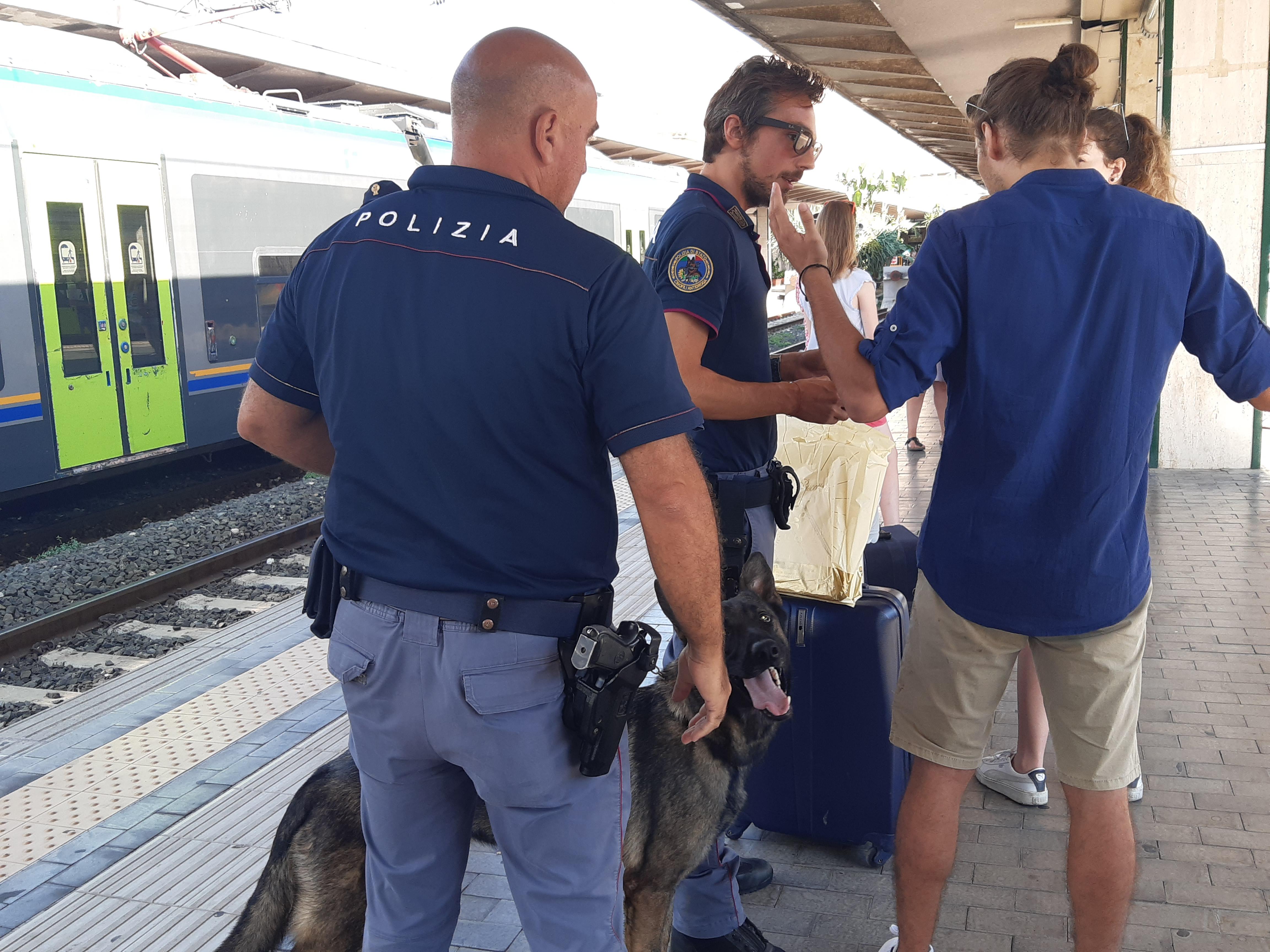 A Cefalù scatta l'operazione Alto Impatto, Polfer a caccia dei criminali stagionali