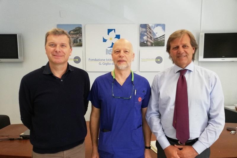 Al Giglio i primi interventi di ortopedia oncologica: impiantata protesi femorale