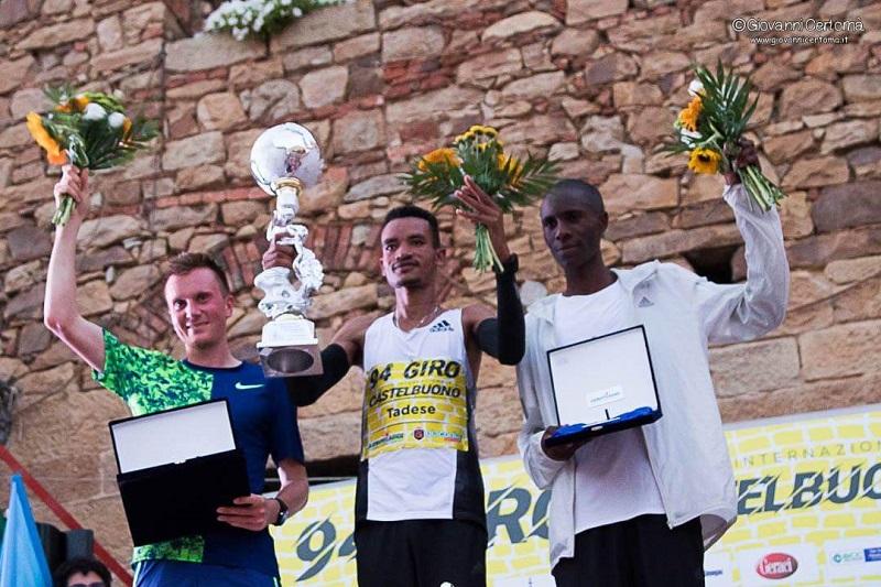 Podismo, l'etiope Worku Tadesse vince il Giro di Castelbuono
