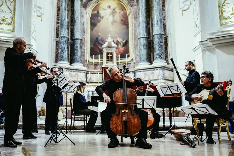 Giovanni Sollima&Arianna Art Ensemble chiudono Castelbuono Classica