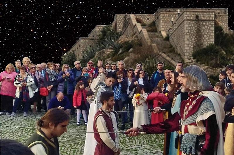 Una notte al castello, tra storie medievali e investiture di cavalieri