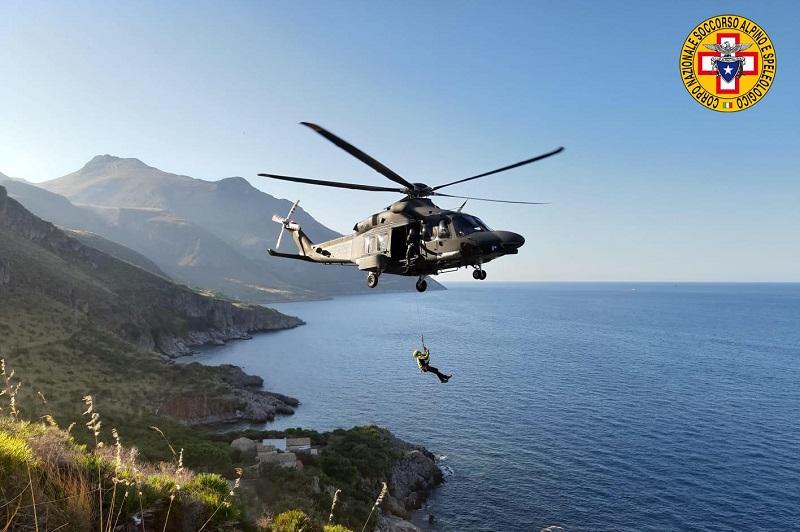 Trapani, il soccorso Palermo-Madonie aiuta un escursionista in difficoltà