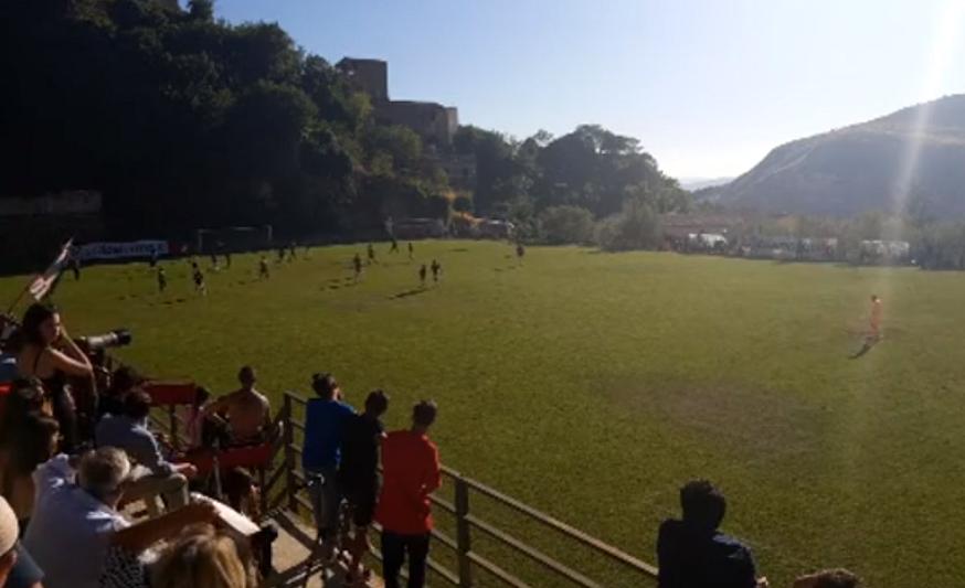 Calcio, finisce 5-0 tra il Palermo e la Supergiovane Castelbuono