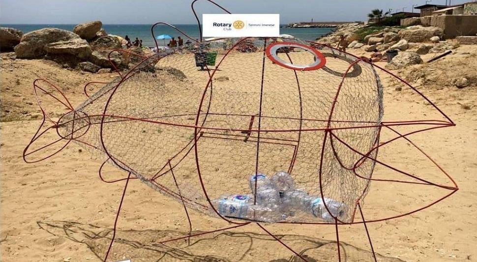 """Anche Termini Imerese avrà il suo pesce """"mangia plastica"""": grazie al Rotary Club"""