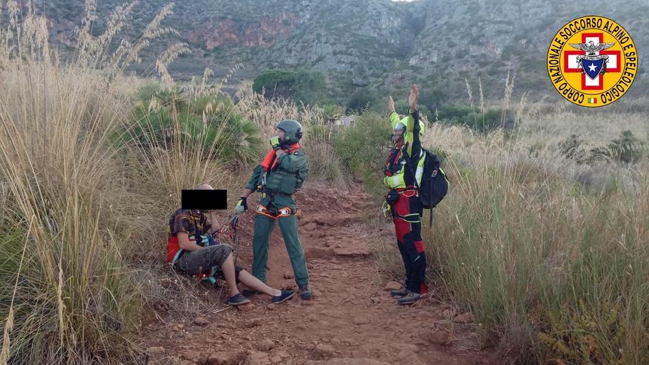 Malore mentre è in gita, salvato dal soccorso alpino Palermo-Madonie