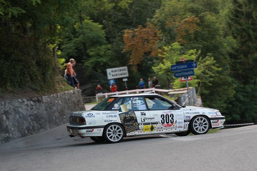 Ritiro amaro per il cerdese Totò Riolo al rally Alpi Orientali in Friuli