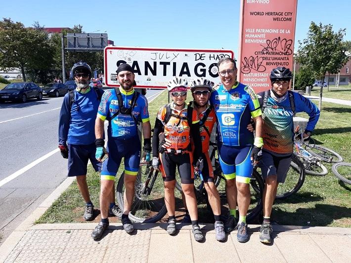 Da Gangi fino a Santiago di Campostela in bici, il cammino su due ruote