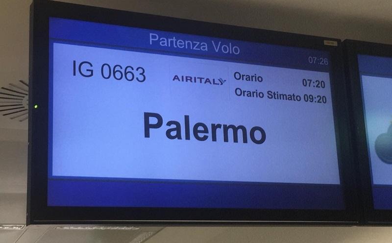 Ritardo da record per un volo Milano – Palermo, più di 15 ore di attesa a Malpensa