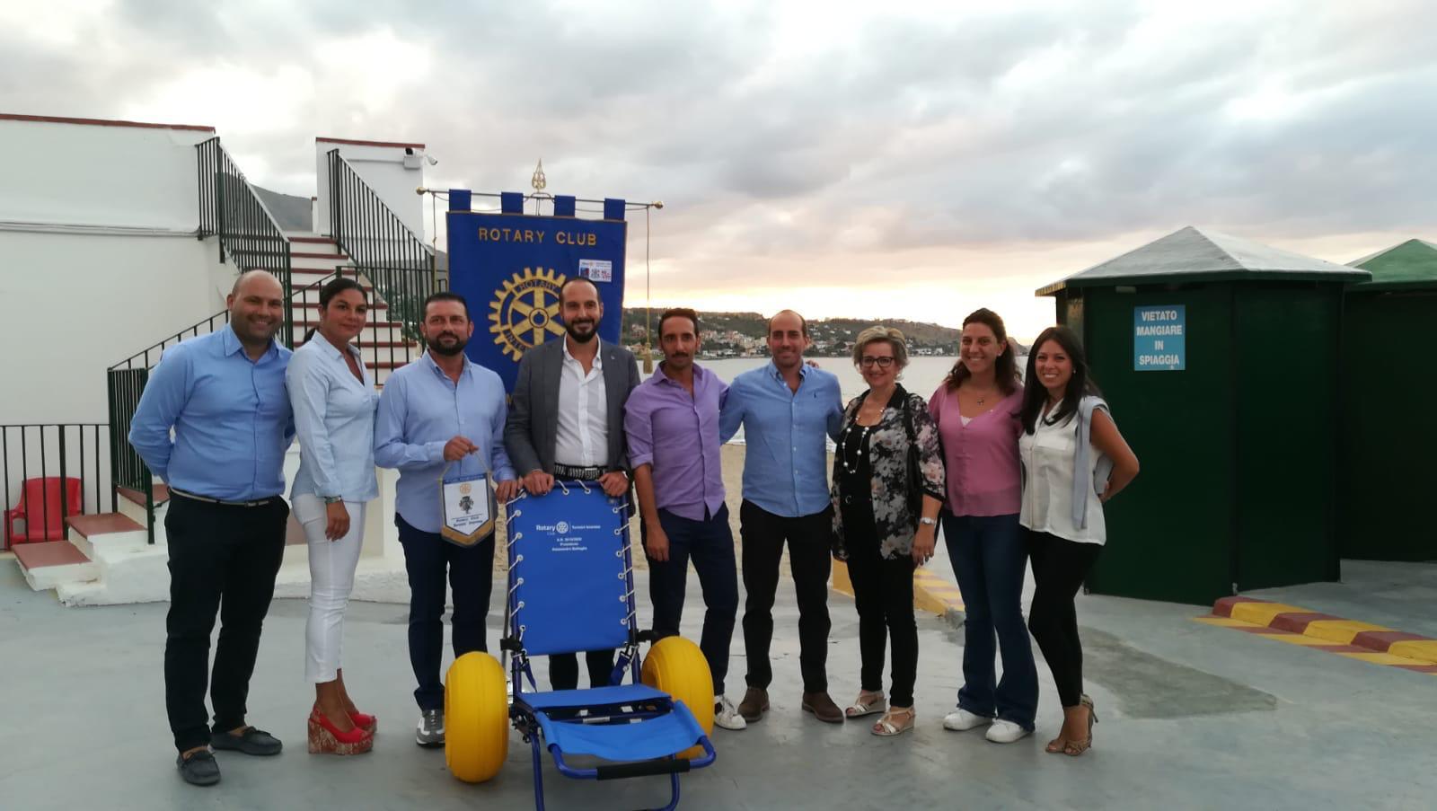 Anche i disabili a mare senza problemi: il Rotary di Termini dona carrozzina Job