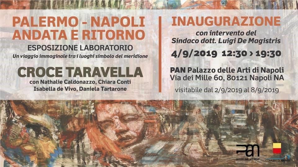 I dipinti di Croce Taravella al PAN di Napoli