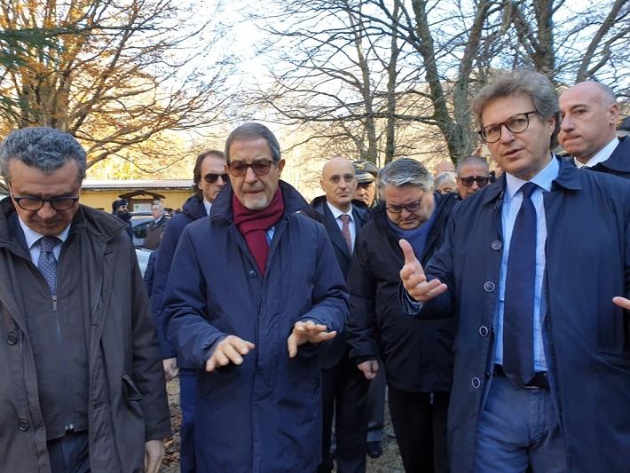 """Il presidente Musumeci a Piano Battaglia: """"Servono nuove infrastrutture"""""""