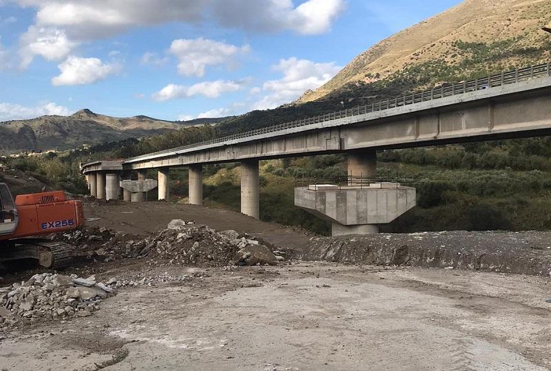 Maestranze trasferite al ponte Morandi: altro ritardo per il Viadotto Himera