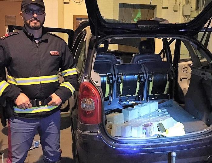 Con 30 chili di droga in auto, fermato e arrestato a Buonfornello