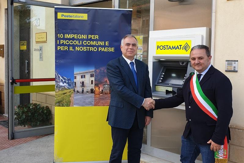 """I """"dieci impegni"""" di Poste Italiane: nuovo postamat nel borgo madonita"""