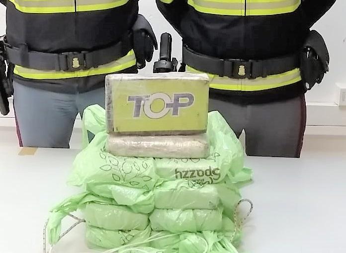 Buonfornello, sull'auto 10 chili di cocaina: arrestato corriere della droga